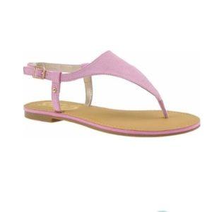 Circus by Sam Edelman Bianca pink suede sandals